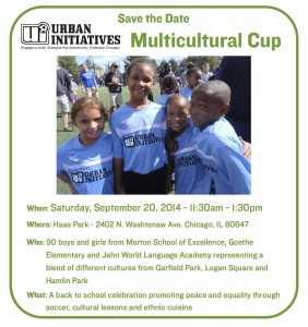 Multicultural Cup 2014